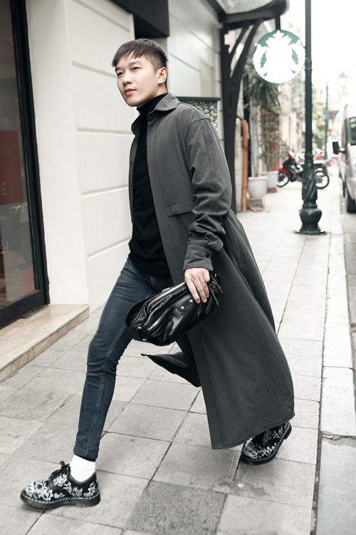 Phối đồ đông xuống phố chuẩn như stylist Lê Minh Ngọc - 3