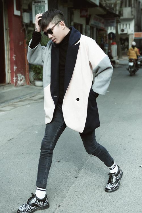 Phối đồ đông xuống phố chuẩn như stylist Lê Minh Ngọc - 10