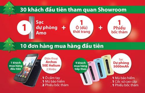 Khai trương TechOne Quang Trung tặng Smartphone miễn phí - 1