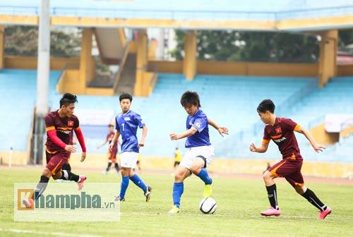 Thay nửa đội hình, U23 Việt Nam lại dưới cơ CLB Nhật - 7