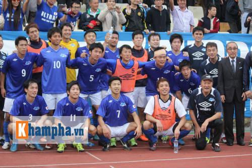Hạ U23 Việt Nam, CLB Nhật ăn mừng như vô địch - 1