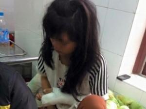 An ninh Xã hội - Bé gái lớp 9 bị bố đẻ đánh bầm dập khắp người