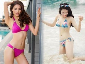 Thời trang - Loạt ảnh bikini 'nóng' nhất 2015 của dàn mỹ nhân Việt
