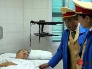 Tin tức trong ngày - CSGT bị kéo lê đã tỉnh và có dấu hiệu hồi phục nhanh