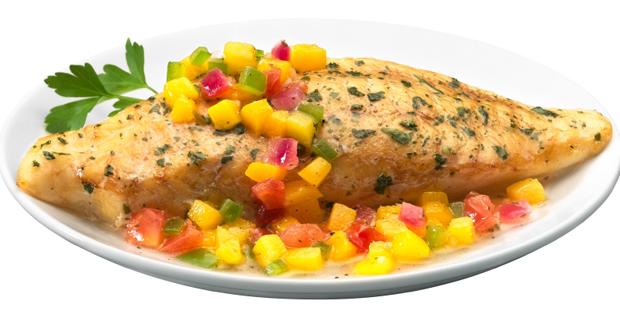 Chua ngọt lạ miệng cá rô phi nướng xoài - 1