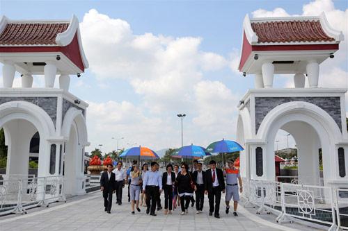 Đại sứ Ấn Độ và Đại sứ Hàn Quốc tại Việt Nam tham quan Asia Park - 1