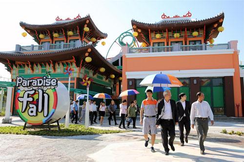Đại sứ Ấn Độ và Đại sứ Hàn Quốc tại Việt Nam tham quan Asia Park - 6