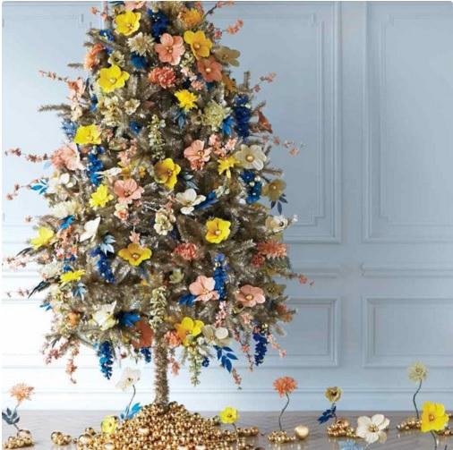 Làm cây thông Noel kết hoa lộng lẫy cho mùa Giáng sinh - 3