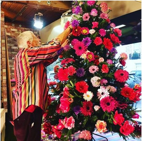 Làm cây thông Noel kết hoa lộng lẫy cho mùa Giáng sinh - 8