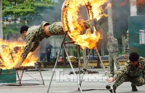Cận cảnh võ thuật siêu phàm của đặc công Việt Nam - 3