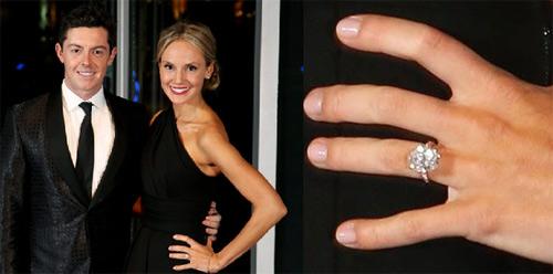 """Golf 24/7: McIlroy mua nhẫn đính hôn siêu """"khủng"""" - 1"""