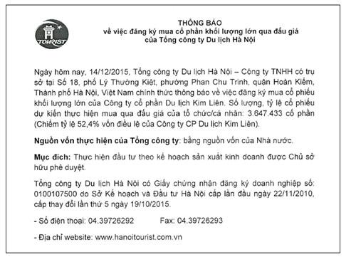 Hanoitourist – Thương hiệu du lịch mạnh - 2