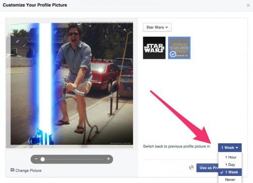 """Cách tạo hiệu ứng tia sáng """"Star Wars"""" cho avatar Facebook - 4"""