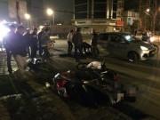 Tin tức trong ngày - HN: Đứng giải quyết tai nạn, tài xế xe tải bị tông chết