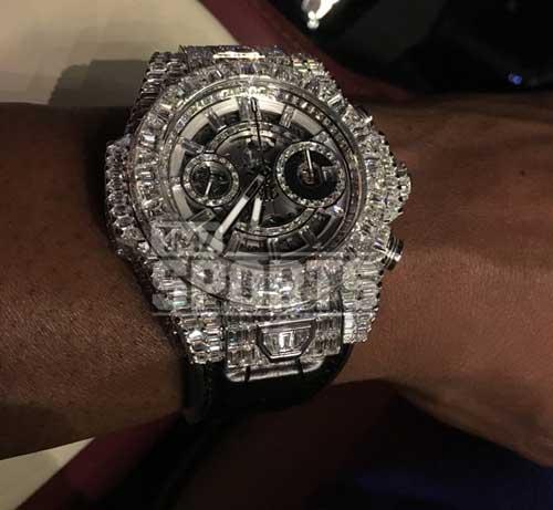"""Mayweather """"ném"""" triệu đô vì 1 chiếc đồng hồ - 2"""