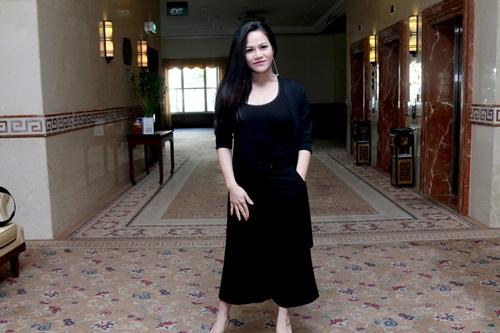 Bà bầu Phi Thanh Vân tăng cân chóng mặt - 6