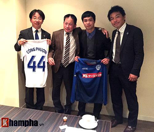 Công Phượng ký hợp đồng với Mito Hollyhock ở TP.HCM - 1