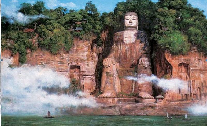 Bí ẩn bức tượng Phật 4 lần rơi lệ ở Trung Quốc - 1