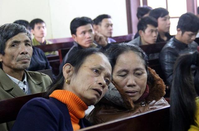 Gương mặt đau đớn ở phiên toà vụ sập giàn giáo Formosa - 4