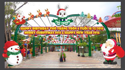 Lễ hội Giáng sinh Thỏ Trắng - màu của yêu thương - 3