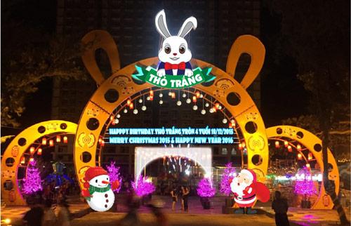 Lễ hội Giáng sinh Thỏ Trắng - màu của yêu thương - 4