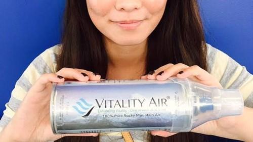 """Không khí sạch đóng chai """"cháy hàng"""" tại Trung Quốc - 2"""