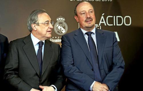 "Real Madrid: Perez đổi ý, Benitez ""lâm nguy"" - 1"