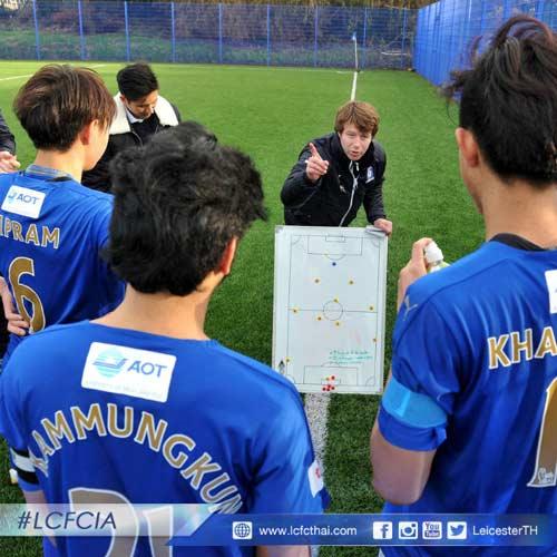 Chuyện về 30 cầu thủ Thái Lan ăn tập tại Leicester City - 9