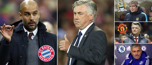 Báo Anh: Pep rời Bayern tới NHA, Ancelotti thay thế - 1