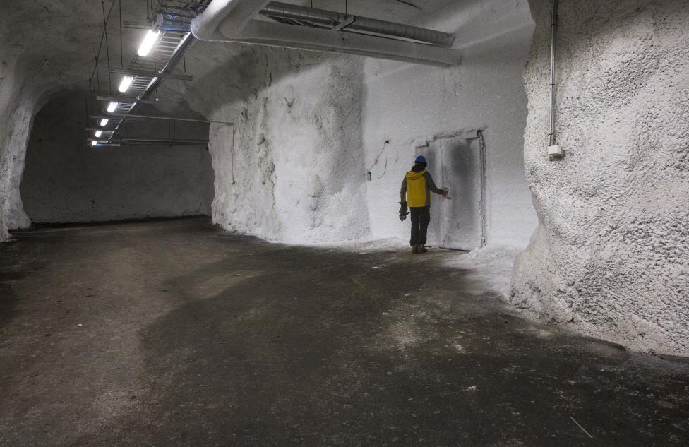 """Bên trong hầm chứa hạt giống chống """"tận thế"""" - 7"""