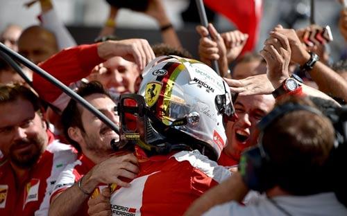 Nhìn lại F1 2015: Phong độ thất thường của Ferrari (P8) - 1