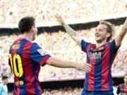 Bóng đá - Messi, Rakitic thi nhau lập siêu phẩm đẹp nhất Liga V15