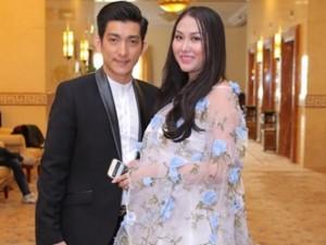 Bà bầu Phi Thanh Vân tăng cân chóng mặt