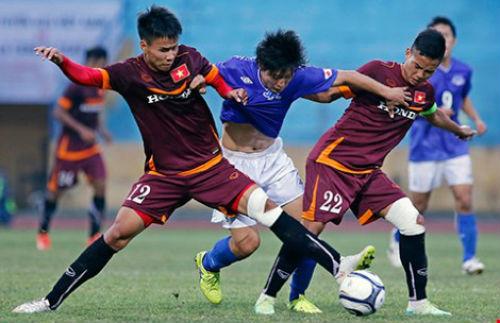 Đội U23 Việt Nam: So găng với đội nghiệp dư tuổi 17-18 - 1