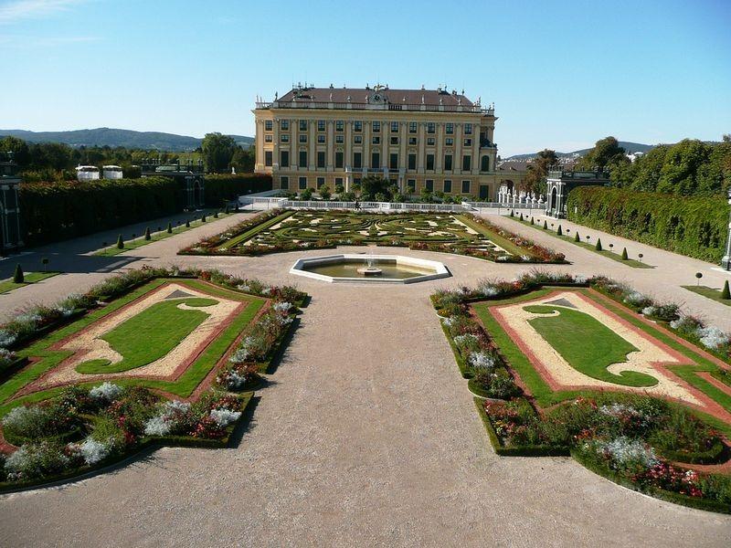 """""""Khu vườn quyền lực"""" ở di sản văn hóa Schönbrunn - 3"""