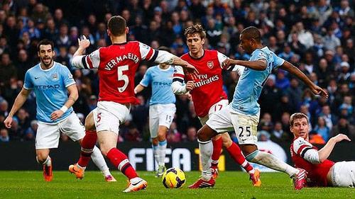 Arsenal - Man City: Quyết chiến vì ngôi đầu - 1