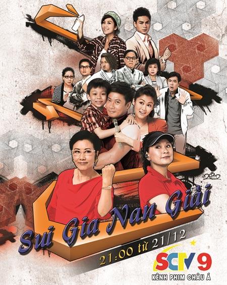 """Phim TVB """"Sui gia nan giải"""" lên sóng SCTV9 - 1"""