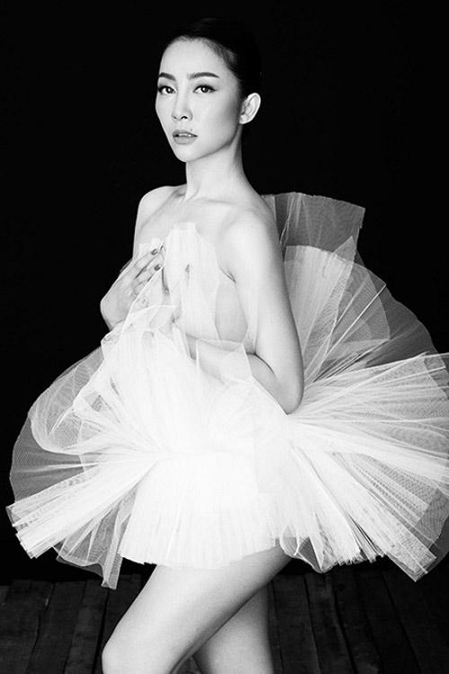 Những shot hình ma mị của diễn viên múa Linh Nga - 7