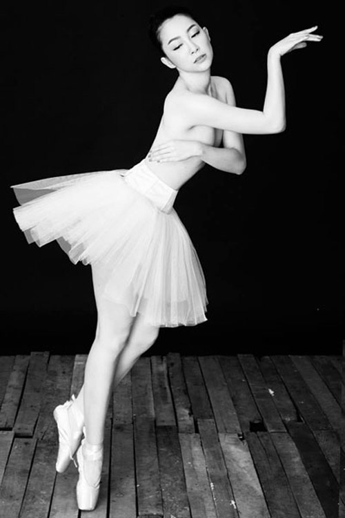 Những shot hình ma mị của diễn viên múa Linh Nga - 6