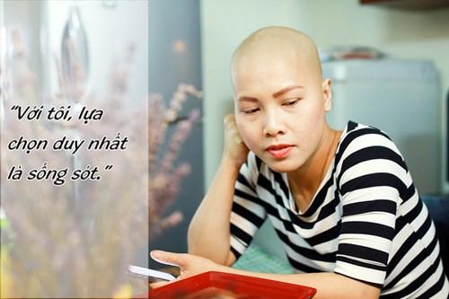 Tâm sự của mẹ trẻ đơn thân mắc ung thư 'gây sốt' - 2