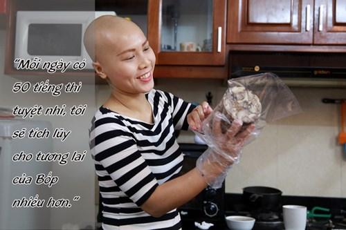 Tâm sự của mẹ trẻ đơn thân mắc ung thư 'gây sốt' - 3