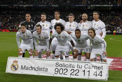 Real Madrid: Khi Benitez thay đội hình như thay áo - 1