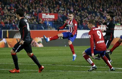 Liga trước vòng 16: Truất ngôi Barca - 1