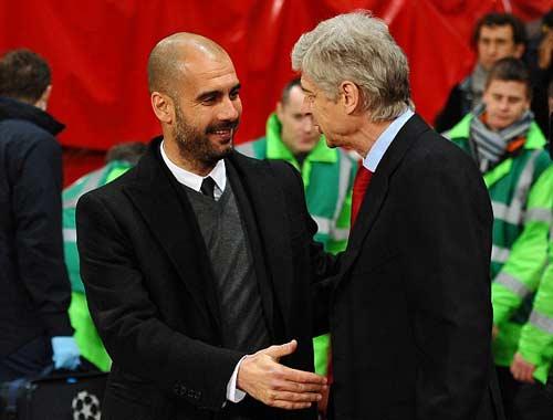 Guardiola bất ngờ muốn kế vị Arsene Wenger ở Arsenal - 1