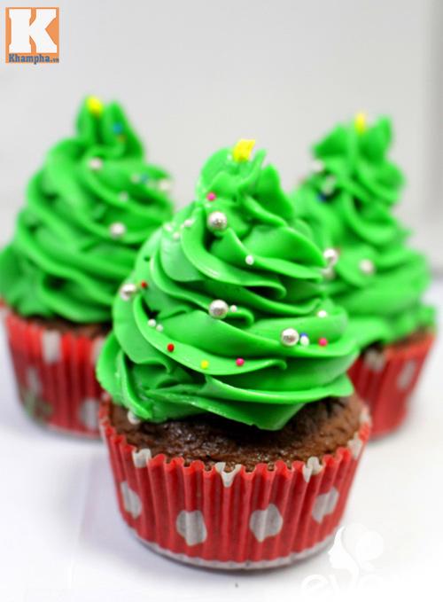 Tự làm bánh cupcake cây thông Noel đẹp mắt - 6