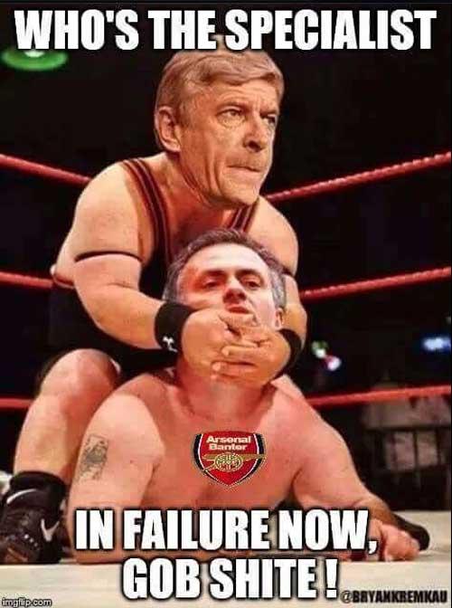 Ảnh chế sa thải Mourinho: Wenger là người vui nhất - 1