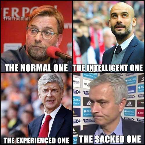 Ảnh chế sa thải Mourinho: Wenger là người vui nhất - 3