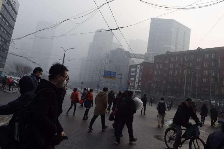 Trung Quốc báo động đỏ lần 2 vì ô nhiễm không khí - 1