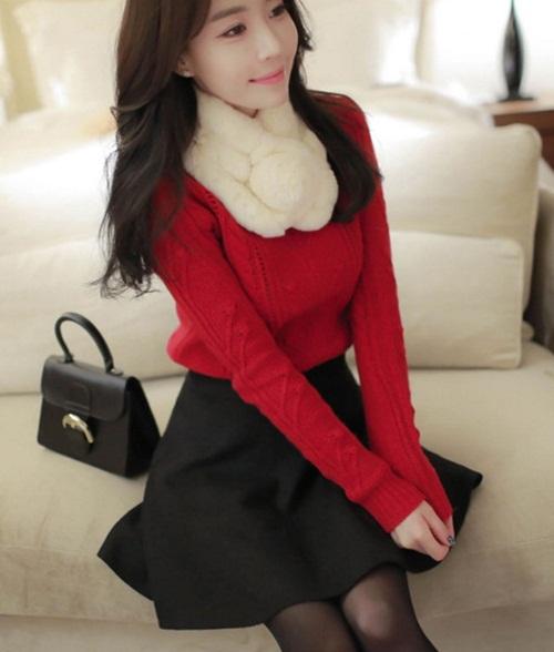 Những mẫu áo len rực rỡ cho mùa Giáng sinh - 12