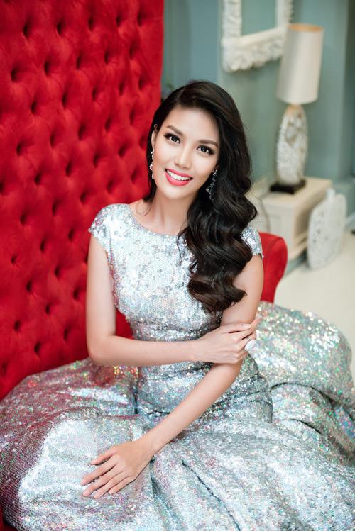Hé lộ trang phục Lan Khuê mặc ở đêm chung kết HHTG - 3